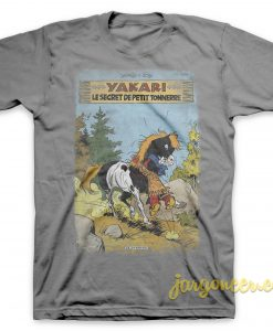 Yakari - The Secret Little Thunder Gray T-Shirt