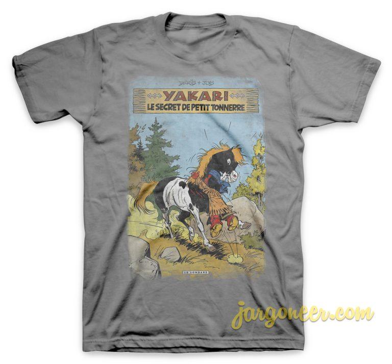 Yakari - The Secret Little Thunder Gray T-Shirt