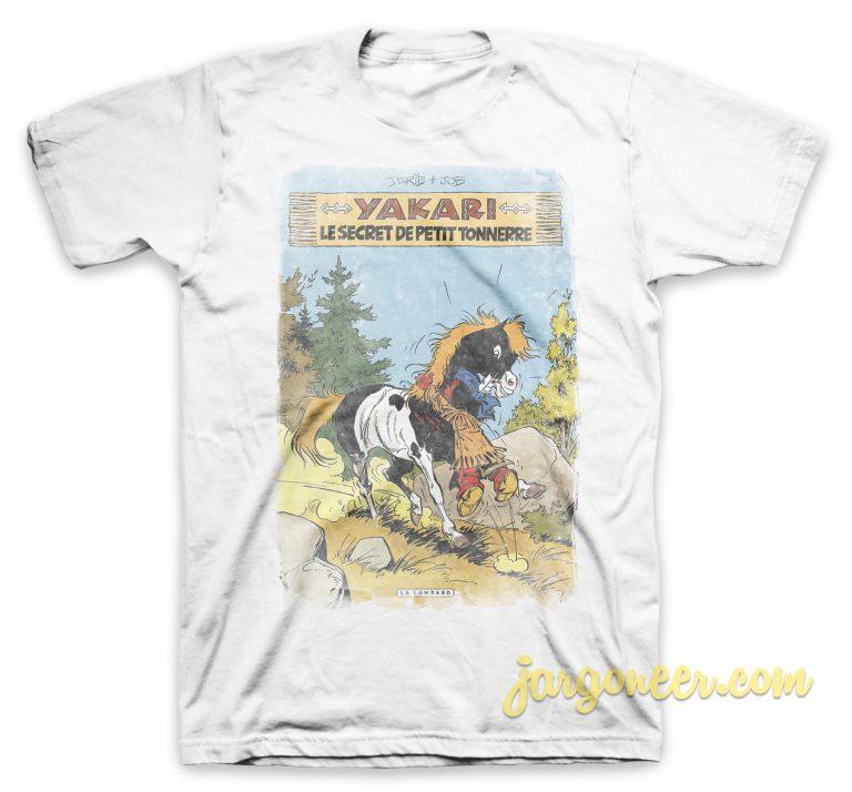 Yakari - The Secret Little Thunder White T-Shirt