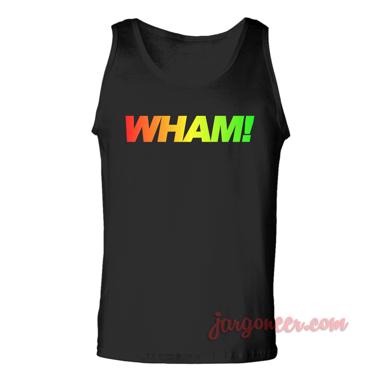Rainbow Wham Unisex Adult Tank Top