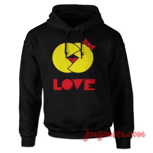 Pacman Love Hoodie