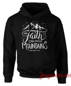 Faith Quote Bibble Hoodie