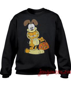 A Cat Inside The Dog Sweatshirt