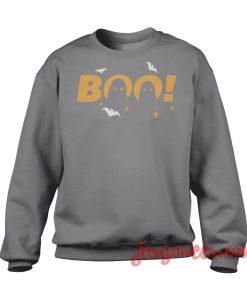 Boo Sweatshirt Cool Designs Ready For Men's or Women's