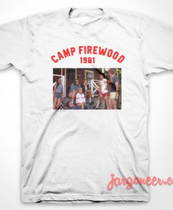 Camp Firewood 1981 T-Shirt