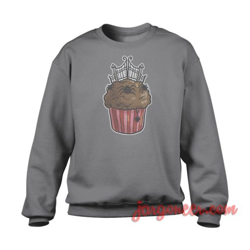 Cemetery Gate Cupcake Sweatshirt Cool Designs Ready For Men's or Women's