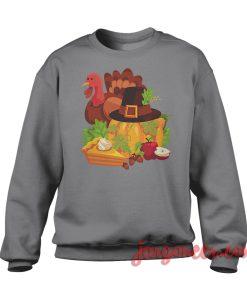 Happy Thanksgiving Elements Sweatshirt