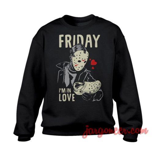 Horror In Love Sweatshirt Cool Designs Ready For Men's or Women's