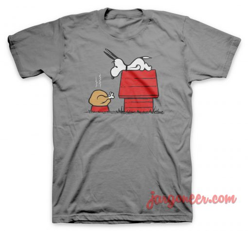 Surprising Turkey For The Funny Dog T Shirt