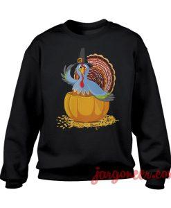 The Blue Turkey Sweatshirt