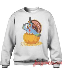 The Blue Turkey Sweatshirt