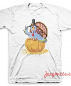 The Blue Turkey T-Shirt