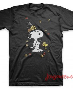The Dog Of Thanksgiving Day T-Shirt