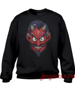The Face Of The Devil Sweatshirt