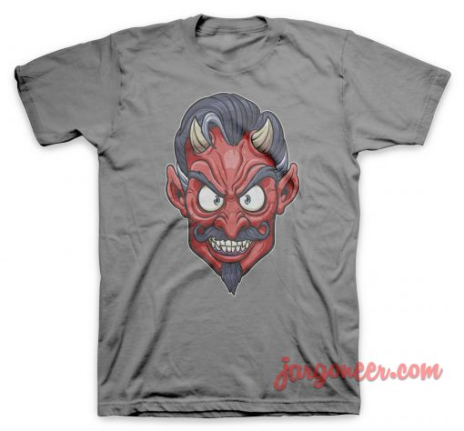 The Face Of Devil T Shirt