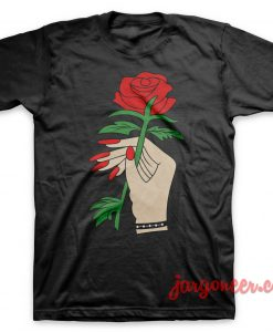 Rose in Hand T-Shirt