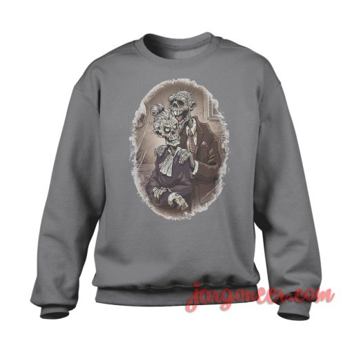 Zombie Couple Sweatshirt