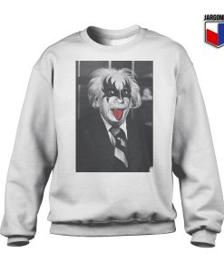 Albert The Rocker Crewneck Sweatshirt