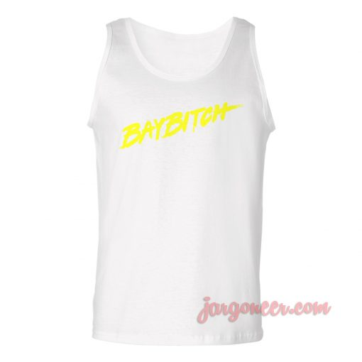 Baybitch Unisex Adult Tank Top