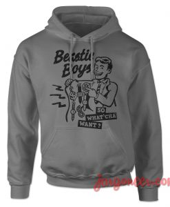 Beastie Boys So What Cha Want Hoodie