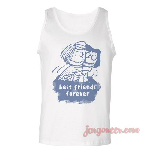 Best Friends Forever Unisex Adult Tank Top