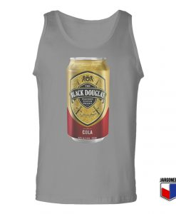 Black Douglas Whisky Cola Tin Unisex Adult Tank Top