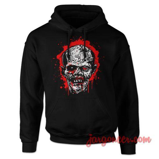 Bloody Head Zombie Hoodie