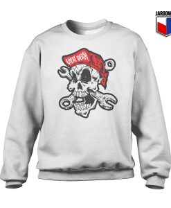 Cheating Death Skull Crewneck Sweatshirt