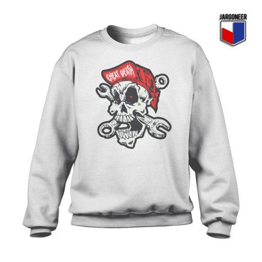 Cheating Death Skull Crewneck Sweatshirt