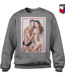 Cristiano Ronaldo And The Girl Crewneck Sweatshirt