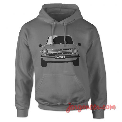 Datsun 510 The Front Face Hoodie