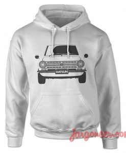 Datsun 510 - The Front Face Hoodie