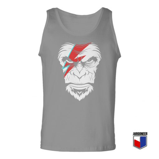 Face Of The New Wave Ape Unisex Adult Tank Top