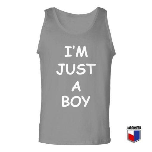 I'M JUST A BOY Unisex Adult Tank Top