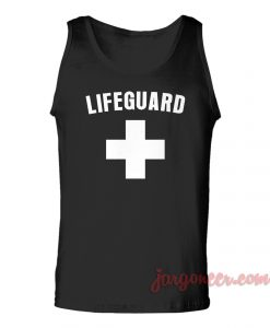 Lifeguard Unisex Adult Tank Top