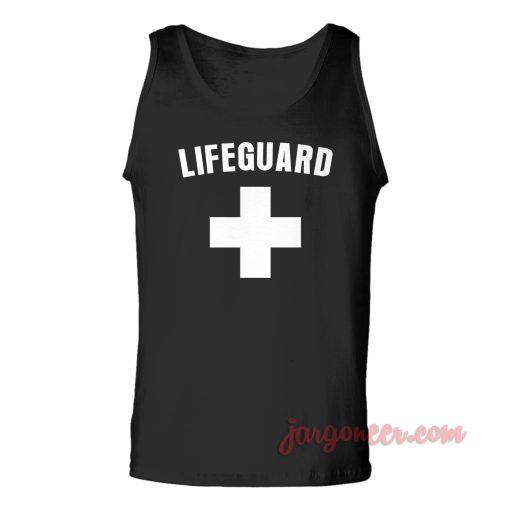 Lifeguard Unisex Adult Tank Top