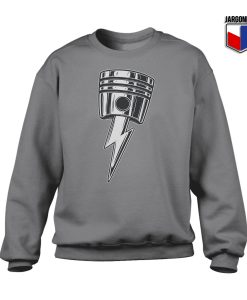 Lightning Bolt Piston Crewneck Sweatshirt