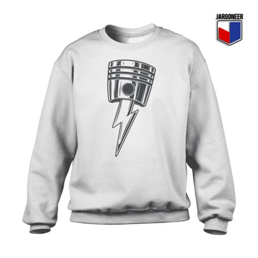 Lightning Bolt Piston Crewneck Sweatshirt