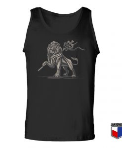 Lion Of Judah Statue Unisex Adult Tank Top