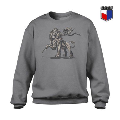 Lion Of Judah Statue Crewneck Sweatshirt