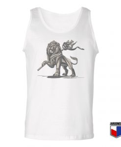 Lion Of Judah Statue Unisex Adult Tank Top