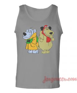 Mumbly And Mutley The Racer Dogs Unisex Adult Tank Top