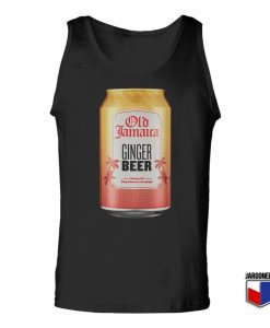 Old Jamaica Root Ginger Tin Unisex Adult Tank Top