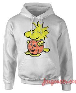 Pixel Pumpkin Woodstock Hoodie