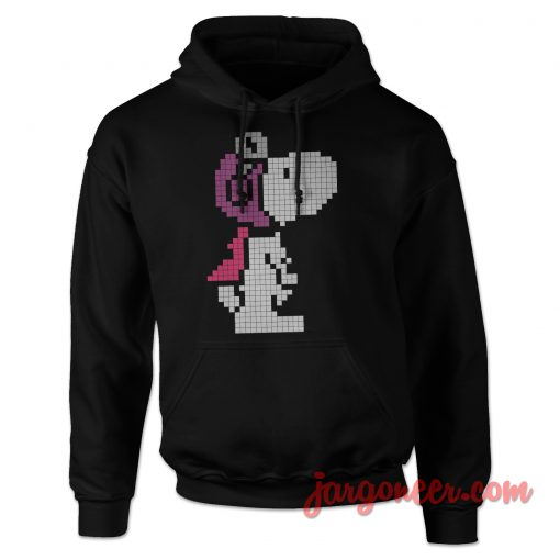 Pixel Snoopy Ready To Fly Hoodie