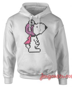 Pixelo Snoopy Ready To Fly Hoodie