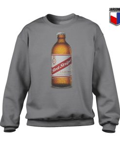 Red Stripe Lager Bottle Crewneck Sweatshirt