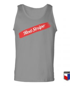 Red Stripe Swash Unisex Adult Tank Top