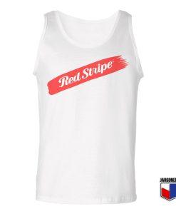 Red Stripe Swash Unisex Adult Tank Top