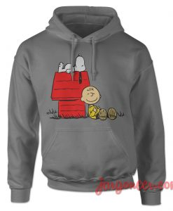 Snoopy And Charlie Brown Hoodie